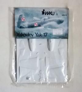 WAKU 1/72 YAKOVLEV YAK-17