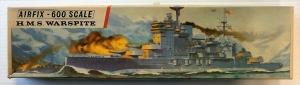 AIRFIX 1/600 F405S HMS WARSPITE