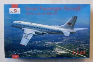 A MODEL 1/144 1469 SOVIET PASSENGER AIRCRAFT NATO CODE CAMEL A