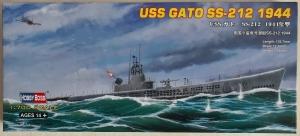 HOBBYBOSS 1/700 87013 USS GATO SS-212 1944