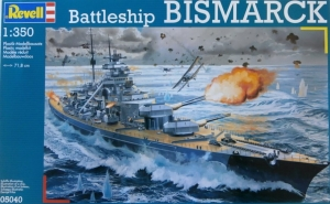 REVELL 1/350 05040 BISMARCK  UK SALE ONLY