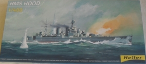HELLER 1/400 81081 HMS HOOD  UK SALE ONLY