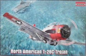 RODEN 1/48 451 NORTH AMERICAN T-28C TROJAN