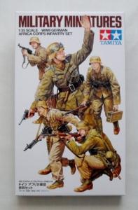 TAMIYA 1/35 35314 WWII GERMAN AFRICA CORPS SET