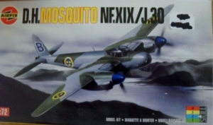 AIRFIX 1/72 03062 D.H.MOSQUITO NF.XIX/J.30