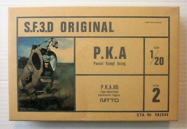 NITTO 1/20 24083 S.F.3.D ORIGINAL P.K.A PANZER KAMPF ANZUG