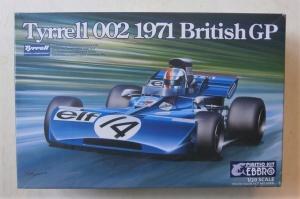 EBBRO 1/20 008 TYRRELL 002 1971 BRITISH GP