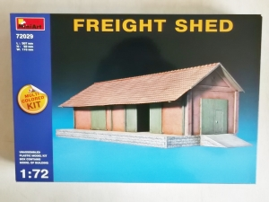 MINIART 1/72 72029 FREIGHT SHED