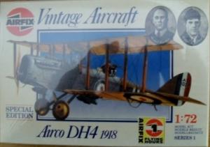 AIRFIX 1/72 01079 AIRCO DH4 1918
