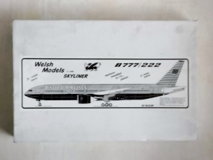 WELSH MODELS 1/144 SL60 B777/222 UNITED AIRLINES
