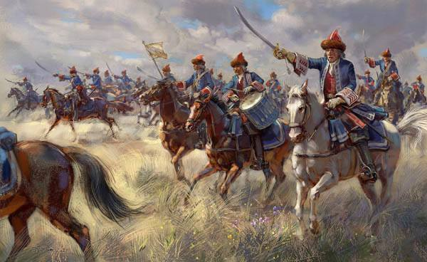 STRELETS 1/72 24172 French Royal Horse Grenadiers War of the Spanish Succession