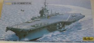 HELLER 1/600 81065 USS FORRESTAL  UK SALE ONLY
