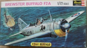 REVELL 1/72 H636SFB BREWSTER BUFFALO F2A