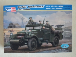 HOBBYBOSS 1/35 82451 US M3A1 WHITE SCOUT CAR EARLY
