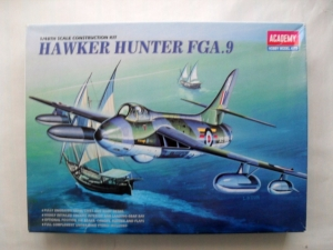 ACADEMY 1/48 2169 HAWKER HUNTER FGA.9