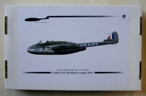 CZECH MASTER RESIN 1/72 214 DE HAVILLAND VAMPIRE FB.9