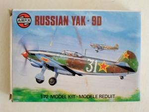 AIRFIX 1/72 61034 RUSSIAN YAK-9D