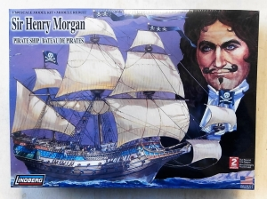 LINDBERG  70859 SIR HENRY MORGAN PIRATE SHIP 1/160