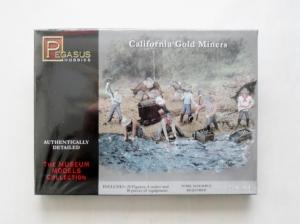 PEGASUS HOBBIES 1/72 7050 CALIFORNIA GOLD MINERS