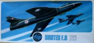 AIRFIX 1/72 02008 HAWKER HUNTER F.6