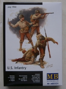 MASTERBOX 1/35 3521 US INFANTRY JULY 1944
