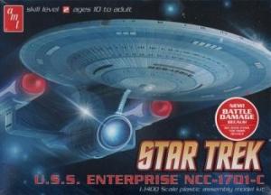 AMT OTHER SCALE 721 STAR TREK USS ENTERPRISE NCC-1701-C 1/1400