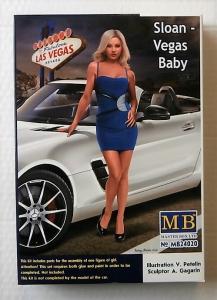 MASTERBOX 1/24 24020 SLOAN - VEGAS BABY