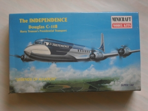 MINICRAFT 1/144 14447 C-118 INDEPENDENCE TRUMAN