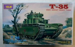 ICM 1/35 35041 T-35 SOVIET HEAVY TANK