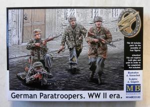 MASTERBOX 1/35 35145 GERMAN PARATROOPERS WWII ERA