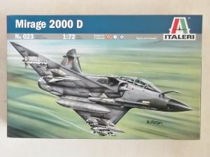 ITALERI 1/72 023 MIRAGE 2000D