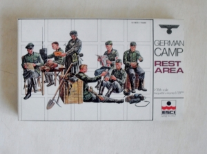 ESCI 1/35 5005 GERMAN CAMP REST AREA