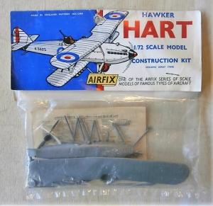 AIRFIX 1/72 1398 HAWKER HART  TYPE II BAG