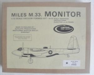 CONTRAIL 1/72 MILES M.33. MONITOR