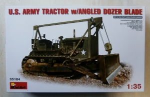 MINIART 1/35 35184 US TRACTOR WITH ANGLED DOZER BLADE