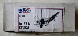 HI-TECH MODEL 1/72 006 JUNKERS Ju 87A STUKA