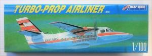 NU BEE 1/100 205 L410 TURBO-PROP AIRLINER INTERFLUG