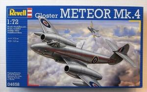 REVELL 1/72 04658 GLOSTER METEOR Mk.4
