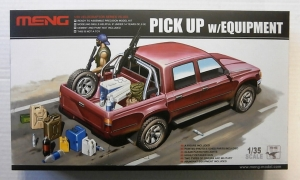 MENG 1/35 VS-002 TOYOTA HILUX PICK UP TRUCK WITH EQUIPMENT