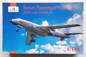 A MODEL 1/144 1450 SOVIET PASSENGER AIRCRAFT CAMEL