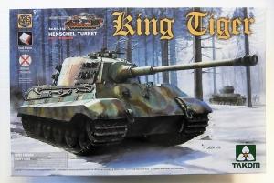 TAKOM 1/35 2073 KING TIGER Sd.Kfz.182 HENSCHEL TURRET FULL INTERIOR