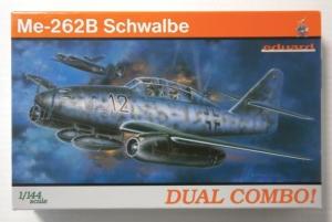 EDUARD 1/144 4421 MESSERSCHMITT Me 262B COMBO