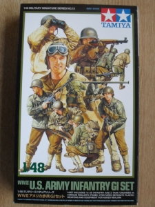 TAMIYA 1/48 32513 WWII US ARMY INFANTRY GI SET