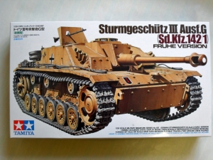 TAMIYA 1/35 35197 STURMGESCHUTZ III Ausf.G. EARLY VERSION