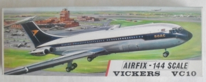 AIRFIX 1/144 SK601 VICKERS VC10 BOAC EARLY