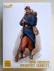 HAT INDUSTRIES 1/72 8148 WWI FRENCH INFANTRY  EARLY