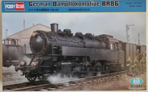 HOBBYBOSS 1/72 82914 GERMAN DAMPFLOKOMOTIVE BR86