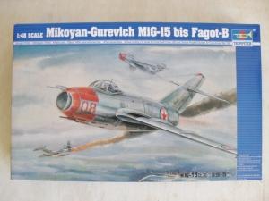 TRUMPETER 1/48 02806 MIKOYAN-GUREVICH MiG-15bis FAGOT-B