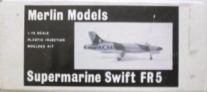 MERLIN 1/72 02 SUPERMARINE SWIFT FR5