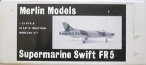 MERLIN 1/72 02 SUPERMARINE SWIFT FR5